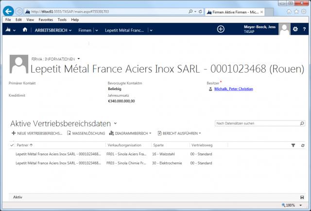 SAP_02_Screen_Acount_Vertriebsbereich_View 2013
