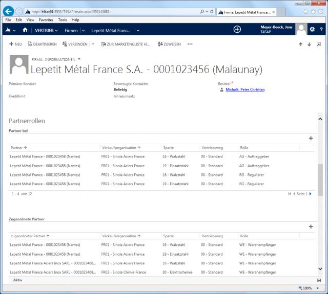 SAP_02_Screen_Account_Vertriebsbereich_Partnerrollen_Ebene_Firma 2013