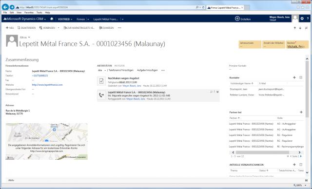 SAP_02_Screen_Account_Vertriebsbereich_Partnerrollen_Ebene_Firma 2013 Rechts