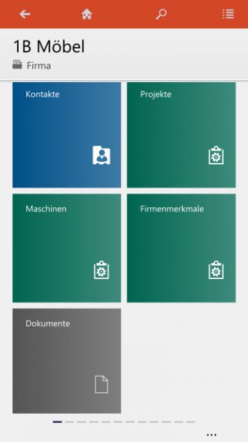 crm 2016 SharePoint Dokumente mobil 1