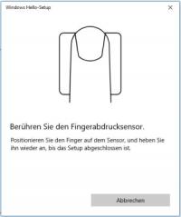 Biometrische Benutzerauthentifizierung mit Windows Hello Thumbnail