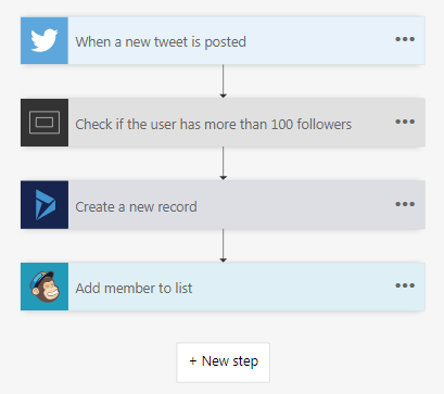 Microsoft Flow Beispiel